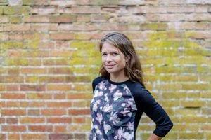 Anna-Marie Watson posed outside