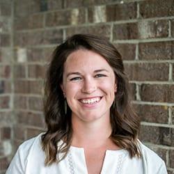 Headshot of author Laura Shrake.