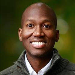 Headshot of author Andrew Dormus
