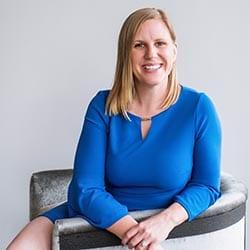 Headshot of author Brittany Salsman, ACC.