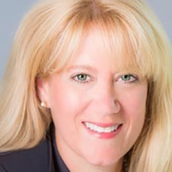 Headshot of ICF Coaching in Organizations Vice President Renee Robertson.