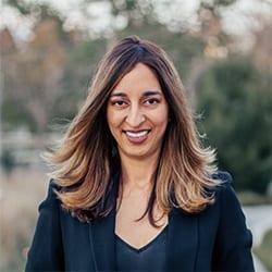 Headshot of author Manisha Dhawan, ACC